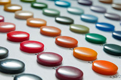 Συλλεκτική μηχανή χρώματος κουμπιών διανυσματική απεικόνιση