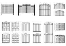 Συλλογές πυλών σιδήρου Στοκ Εικόνες