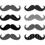 Συλλογές σχεδίων Mustaches Στοκ εικόνες με δικαίωμα ελεύθερης χρήσης