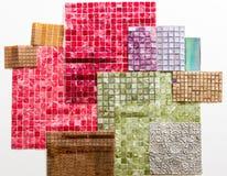 Συλλογές των μωσαϊκών Για τη διακόσμηση τοίχων Στοκ Εικόνες
