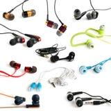 Συλλογή ακουστικών στοκ φωτογραφία με δικαίωμα ελεύθερης χρήσης