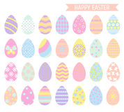 Συλλογή αυγών Πάσχας απεικόνιση αποθεμάτων
