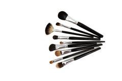 Συλλογή βουρτσών Makeup Στοκ Εικόνα