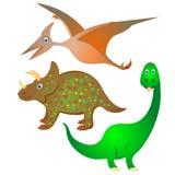 Συλλογή δεινοσαύρων Στοκ Φωτογραφία