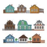 Συλλογή εξοχικών σπιτιών Στοκ Εικόνες
