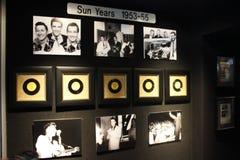 Συλλογή ετών ήλιων του Elvis Presley Graceland Στοκ εικόνες με δικαίωμα ελεύθερης χρήσης
