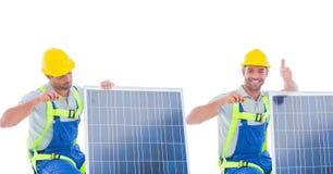 συλλογή ηλιακών πλαισίων Στοκ Φωτογραφίες