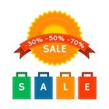 Συλλογή θερινής πώλησης Στοκ εικόνα με δικαίωμα ελεύθερης χρήσης