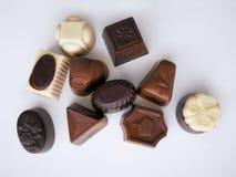 Συλλογή καραμελών σοκολάτας Στοκ εικόνα με δικαίωμα ελεύθερης χρήσης