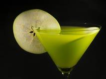 Συλλογή κοκτέιλ - Apple Martini Στοκ φωτογραφία με δικαίωμα ελεύθερης χρήσης