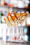 Συλλογή κοκτέιλ - Martini Στοκ φωτογραφία με δικαίωμα ελεύθερης χρήσης