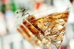 Συλλογή κοκτέιλ - Martini Στοκ Εικόνες