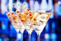 Συλλογή κοκτέιλ - Martini Στοκ Εικόνα