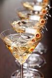 Συλλογή κοκτέιλ - Martini Στοκ Φωτογραφία