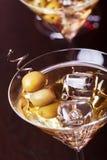 Συλλογή κοκτέιλ - Martini Στοκ Φωτογραφίες