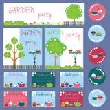Συλλογή κομμάτων κήπων Στοκ φωτογραφίες με δικαίωμα ελεύθερης χρήσης