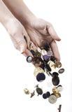 Συλλογή κουμπιών Στοκ εικόνα με δικαίωμα ελεύθερης χρήσης