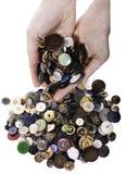 Συλλογή κουμπιών Στοκ Εικόνες