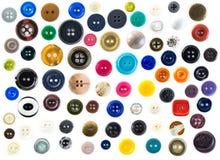 συλλογή κουμπιών Στοκ Εικόνα