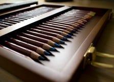 Συλλογή μολυβιών κρητιδογραφιών Στοκ φωτογραφία με δικαίωμα ελεύθερης χρήσης