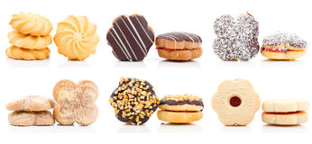 Συλλογή μπισκότων Στοκ εικόνα με δικαίωμα ελεύθερης χρήσης