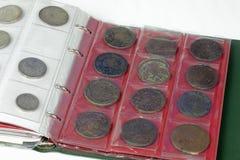 Συλλογή νομισμάτων Στοκ φωτογραφία με δικαίωμα ελεύθερης χρήσης