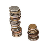Συλλογή νομισμάτων Στοκ φωτογραφίες με δικαίωμα ελεύθερης χρήσης
