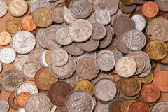Συλλογή νομισμάτων Στοκ Φωτογραφία