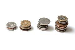 Συλλογή νομισμάτων Στοκ εικόνα με δικαίωμα ελεύθερης χρήσης