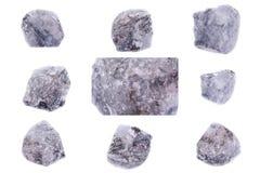 Συλλογή ορυκτό Apatite πετρών Στοκ φωτογραφίες με δικαίωμα ελεύθερης χρήσης