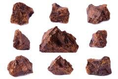 Συλλογή ορυκτό Siderite πετρών Στοκ φωτογραφία με δικαίωμα ελεύθερης χρήσης
