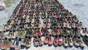 Συλλογή πάνινων παπουτσιών Στοκ φωτογραφίες με δικαίωμα ελεύθερης χρήσης
