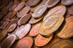 Συλλογή παγκόσμιων νομισμάτων Στοκ εικόνες με δικαίωμα ελεύθερης χρήσης