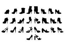 Συλλογή παπουτσιών Στοκ Εικόνα