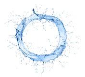 Συλλογή παφλασμών νερού που απομονώνεται στο λευκό Στοκ εικόνες με δικαίωμα ελεύθερης χρήσης