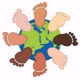 Συλλογή ποδιών μωρών Στοκ Εικόνες