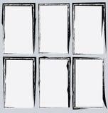 Συλλογή πλαισίων Grunge Στοκ εικόνα με δικαίωμα ελεύθερης χρήσης