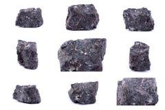 Συλλογή της πέτρας ορυκτό Apophyllite Στοκ Φωτογραφία