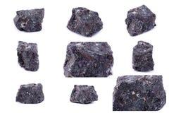 Συλλογή της πέτρας ορυκτό Apophyllite Στοκ εικόνες με δικαίωμα ελεύθερης χρήσης