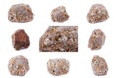 Συλλογή της πέτρας ορυκτό Arsenopyrite Στοκ Φωτογραφίες