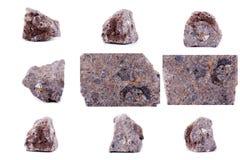 Συλλογή της πέτρας ορυκτό Vanadinite Στοκ φωτογραφία με δικαίωμα ελεύθερης χρήσης