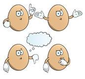 Σύνολο αυγών σκέψης Στοκ Εικόνα