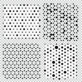 Συλλογή του πλέγματος δομών μορίων Γενετικές χημικές ενώσεις σφαιρών δημιουργικές Στοκ Εικόνα