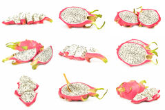 Συλλογή του pitaya Στοκ Εικόνες