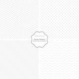 Συλλογή των απλών διανυσματικών σχεδίων Στοκ φωτογραφία με δικαίωμα ελεύθερης χρήσης