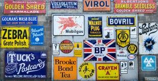 Συλλογή των εκλεκτής ποιότητας σημαδιών Στοκ φωτογραφία με δικαίωμα ελεύθερης χρήσης
