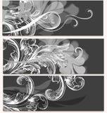 Συλλογή των επαγγελματικών καρτών με τη διακόσμηση Στοκ φωτογραφία με δικαίωμα ελεύθερης χρήσης