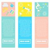 Συλλογή των ζωηρόχρωμων εμβλημάτων πίσω στο σχολείο διανυσματική απεικόνιση