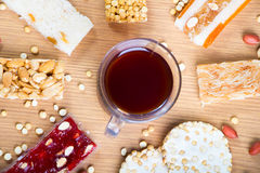 Συλλογή των καραμελών και των γλυκών Mawlid Halawa φασολιών Στοκ φωτογραφία με δικαίωμα ελεύθερης χρήσης
