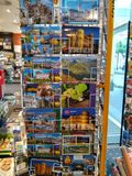Συλλογή των καρτών Στοκ φωτογραφίες με δικαίωμα ελεύθερης χρήσης